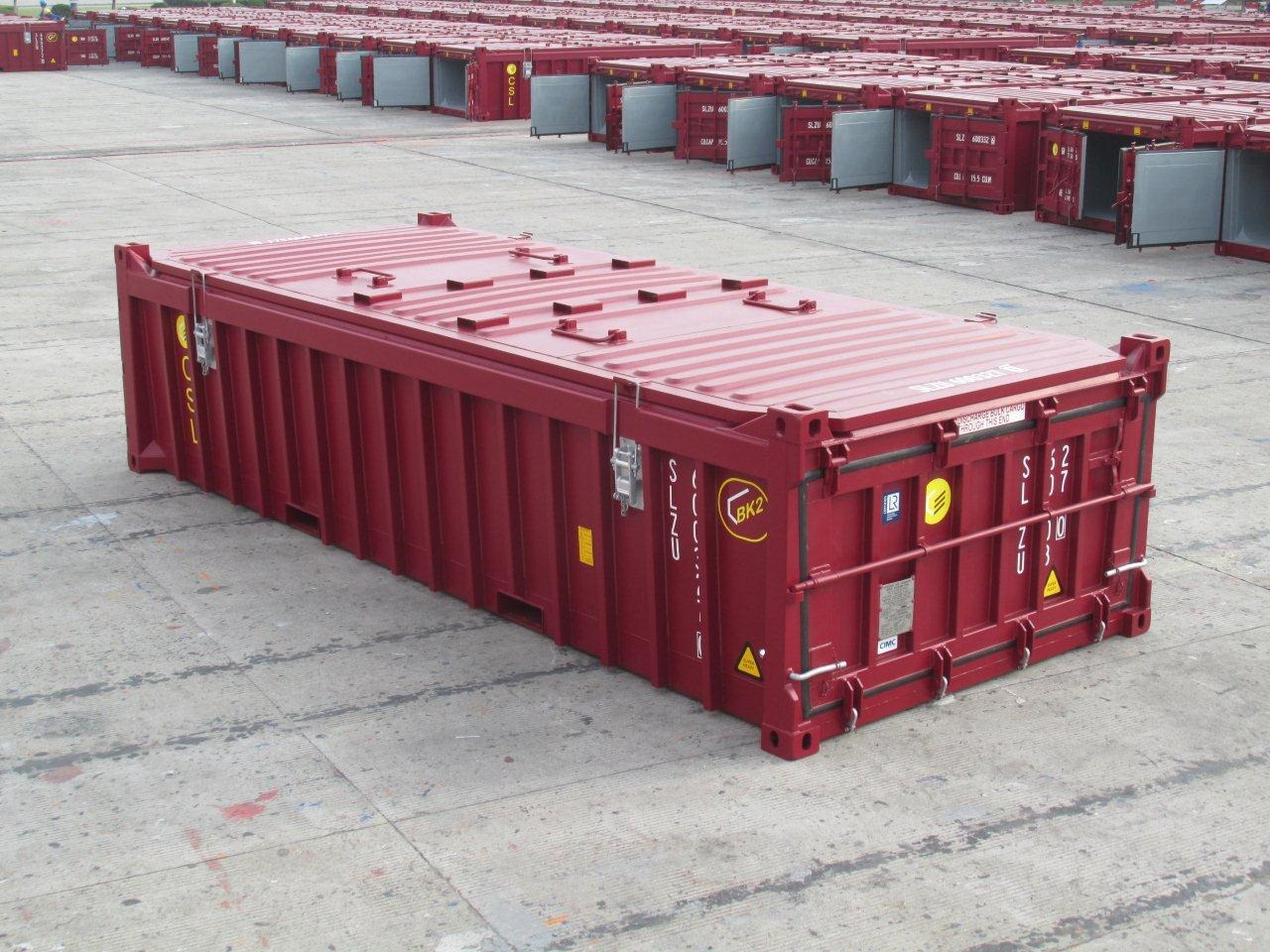 Half Height Containers